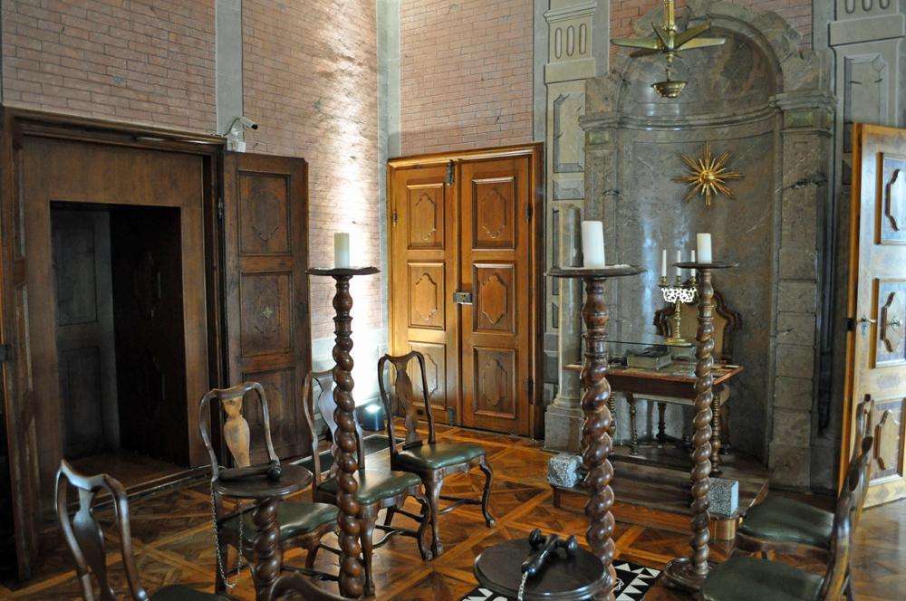 Schloss Rosenau ( Freimaurer - Zeremonienraum)