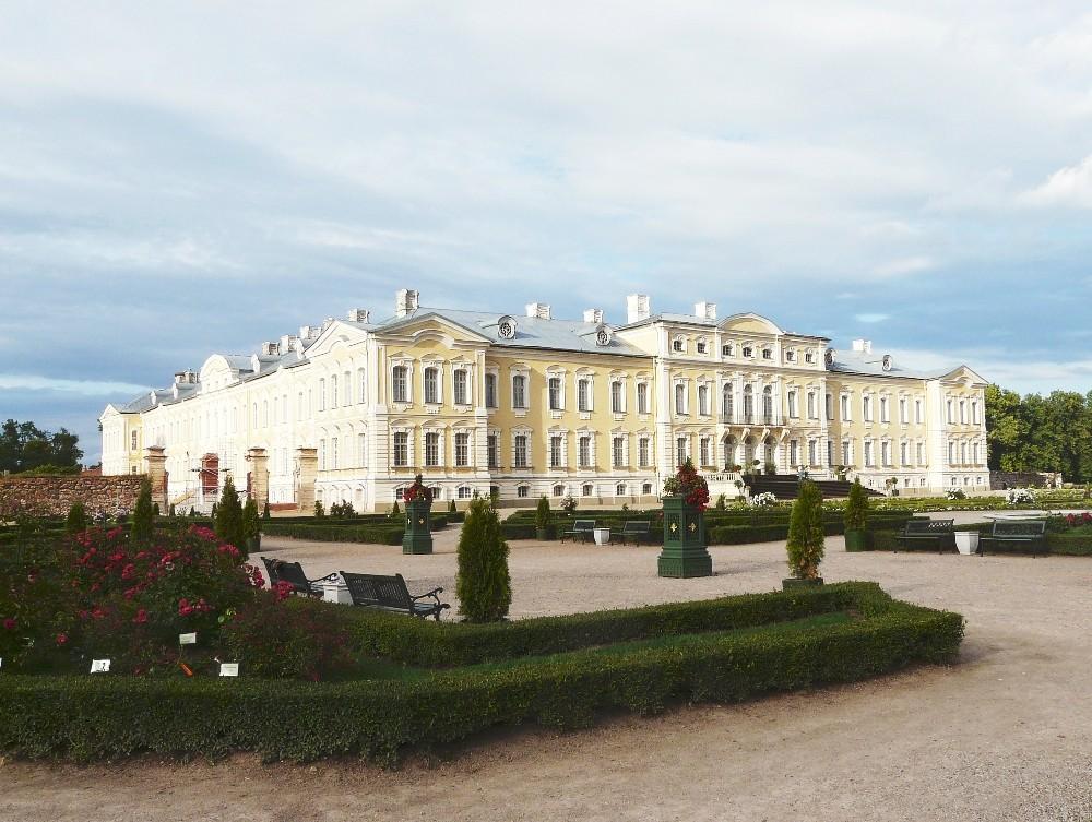 Schloss Rundale bei Riga/Lettland