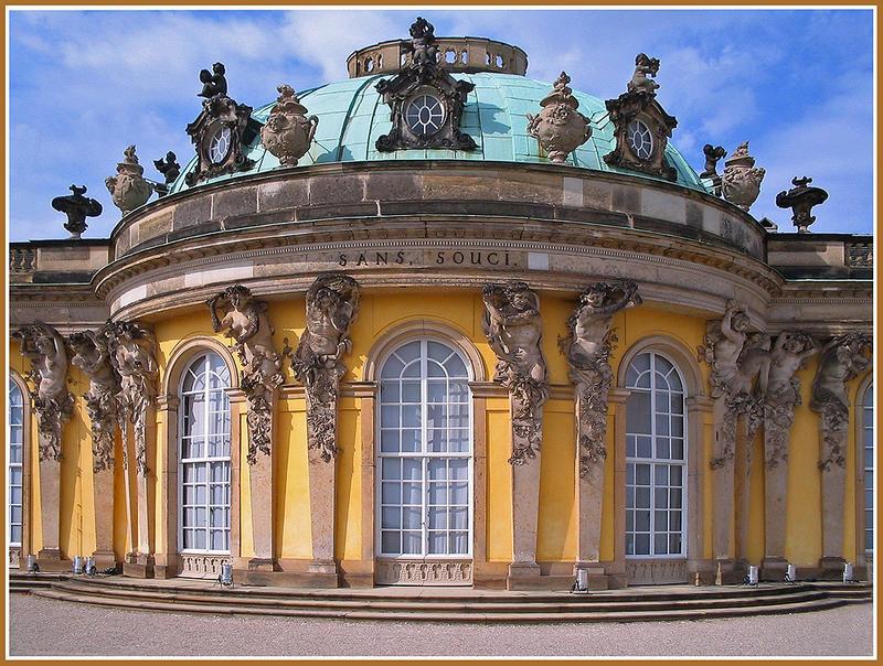 Schloss Sans Soui in Potsdam