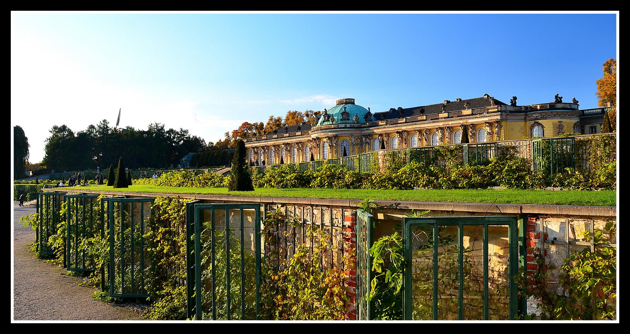 """Schloß """" Sanssouci """""""