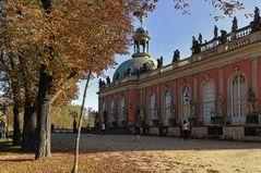 Schloss Sanssouci - Potsdam - im Herbst