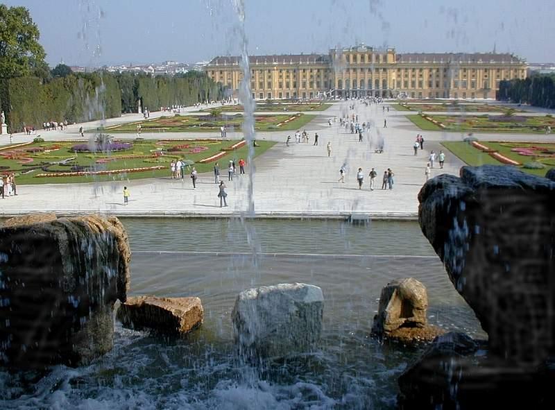 Schloß Schönbrunn in Wien