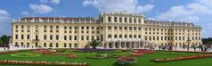Schloss Schönbrunn in Wien in seiner ganzen Ausdehnung (aus meiner Wienserie)