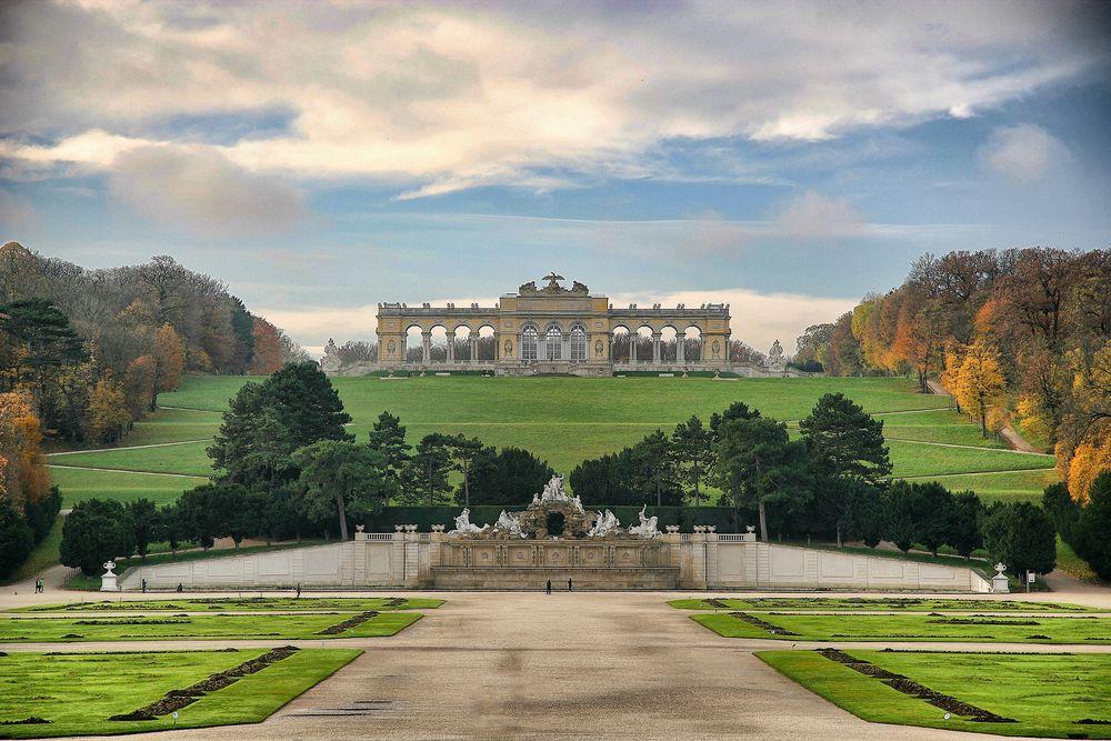 Schloss Schönbrunn / Wien / Gloriette / 2