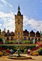 Schloss Schwerin mit Orangerie...