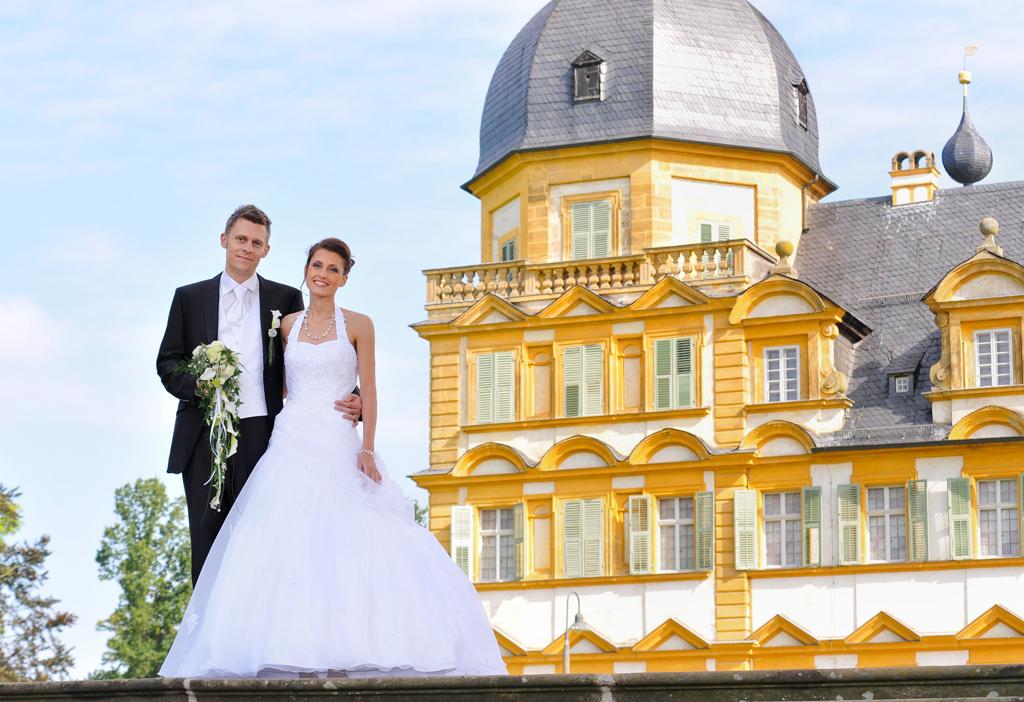 Schloss Seehof bei Memmelsdorf Hochzeitsfotografie