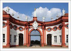 Schloss Seehof Eingangsbereich (von innen)