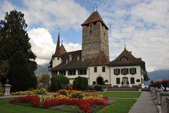 Schloss Spiez am Thunersee - Castle Spiez at Lake Thun