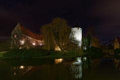 Schloss Steinfurt bei Nacht