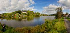 Schloss Stiege und Schlosssee