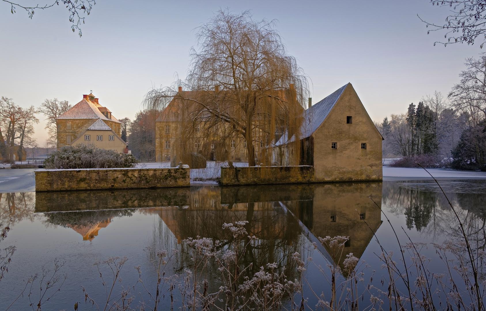 Schloss Tatenhausen im Winter