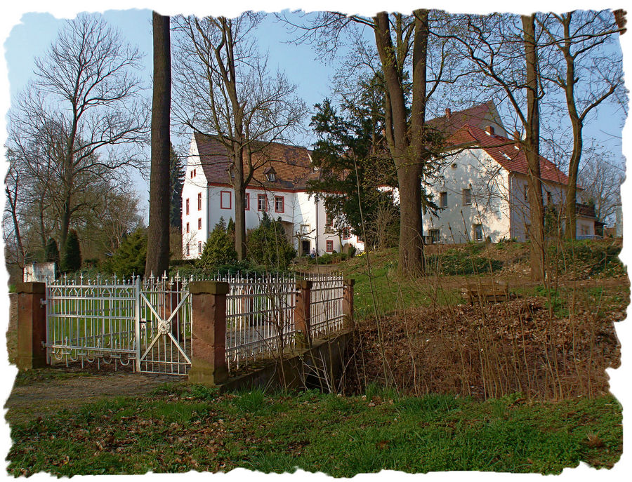 Schloss Triestewitz an der Elbe
