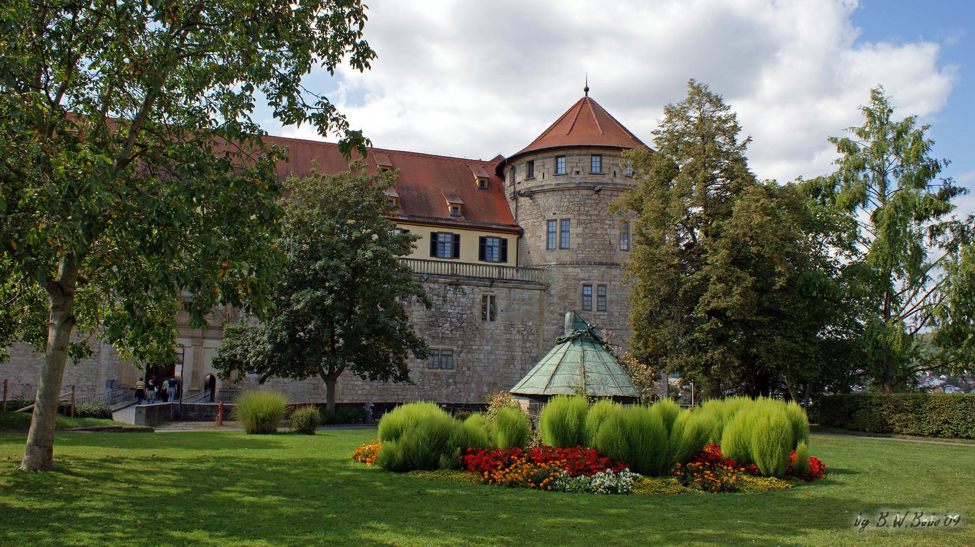 Schloß Tübingen - Detailansicht