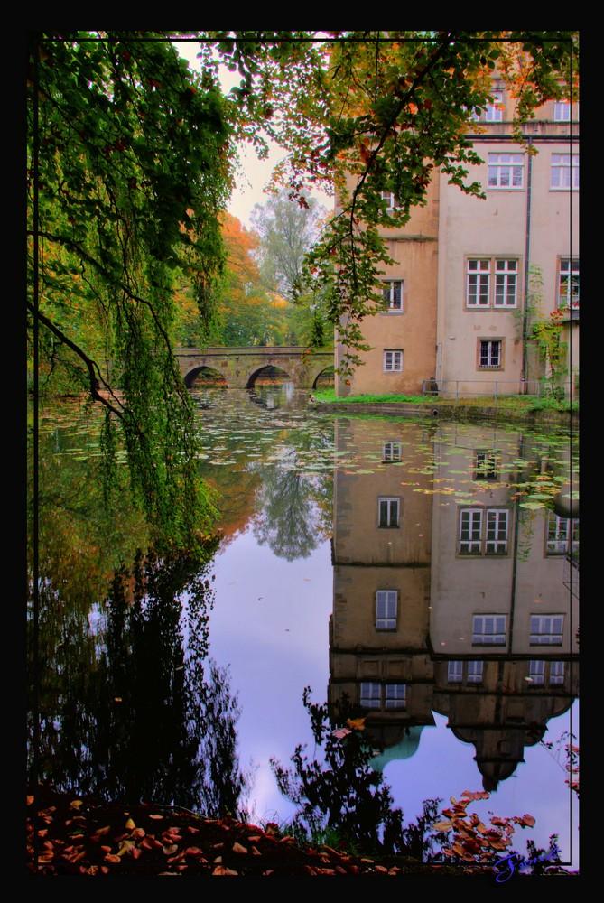 Schloss Ulenburg Spiegelung