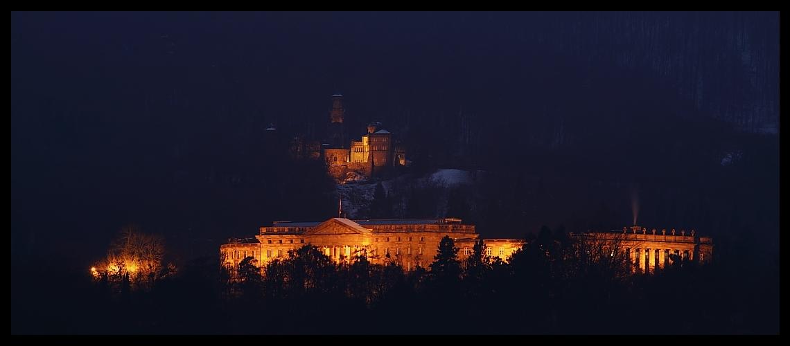 Schloß und Burg