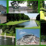 Schloß und Park in Düsseldorf-Benrath