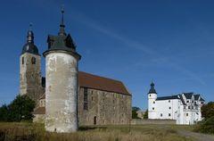 Schloss und Pfarrkirche St. Peter in Leitzkau
