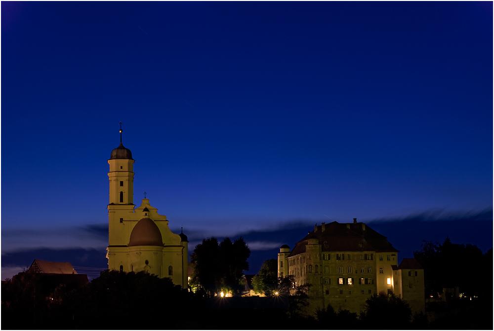 Schloss und Schlosskirche Hohenstadt