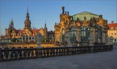 Schloss und Zwinger