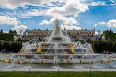 Schloss Versailles - Brunnen der Latona