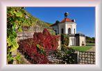 Schloss Wackerbath............, (das Belvedere im Herbstkleid)