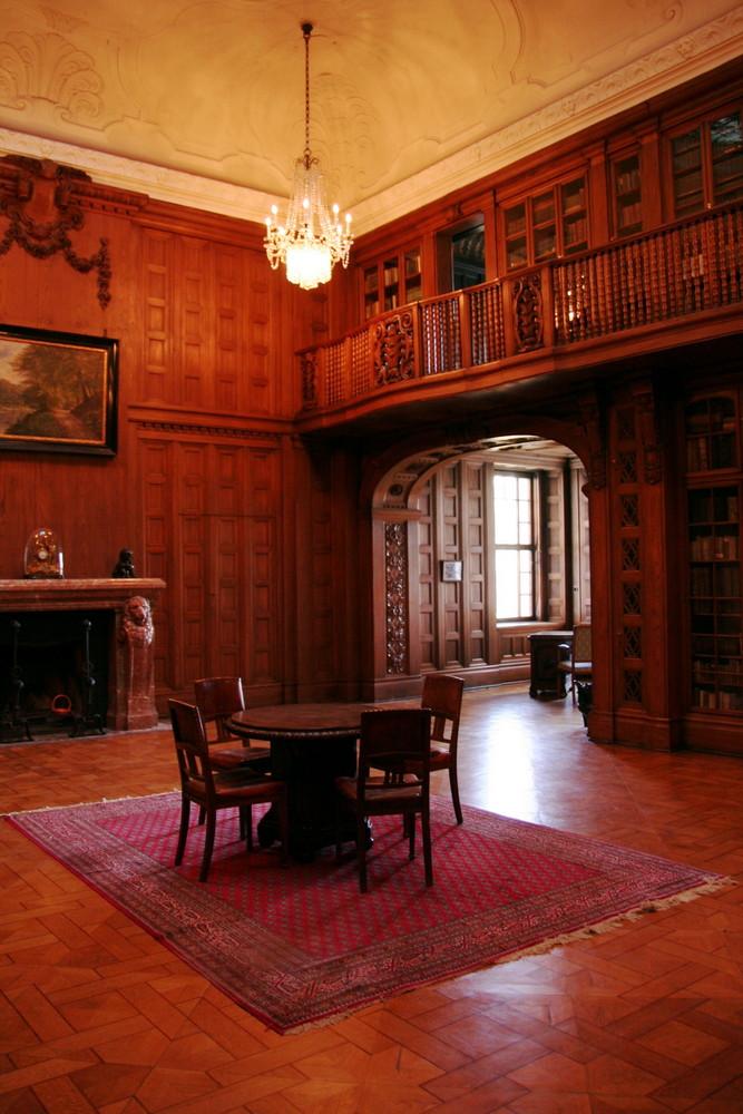Schloss Waldenburg, Bibliothek