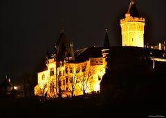 Schloß Werningerode bei Nacht