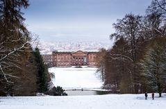 Schloss Wilhelmshöhe im Winter