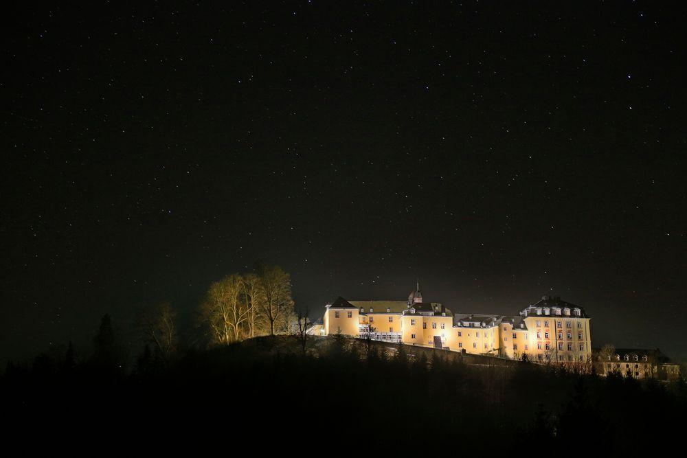 Schloß Wittgenstein bei Nacht