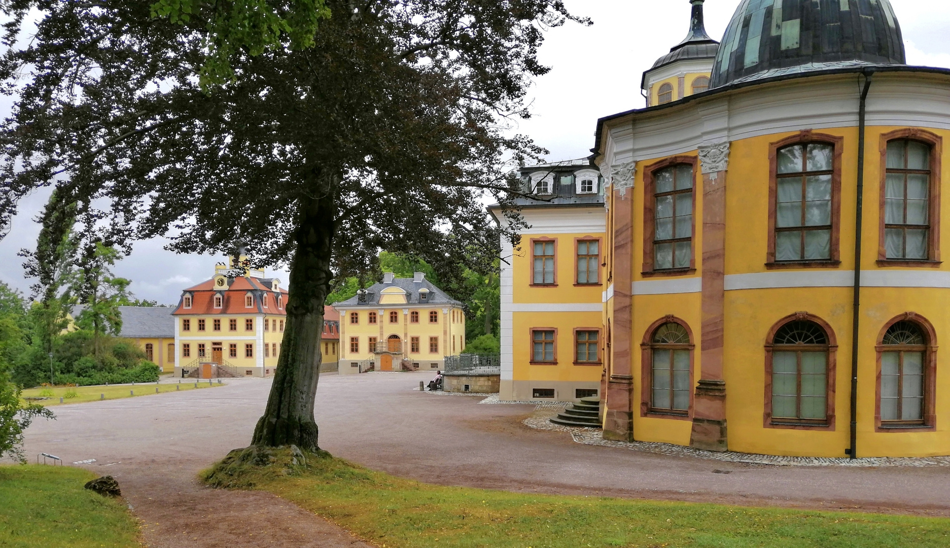 Schlossanlage Belvedere in Weimar
