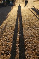Schlossberg Quedlinburg - Mein langer Schatten