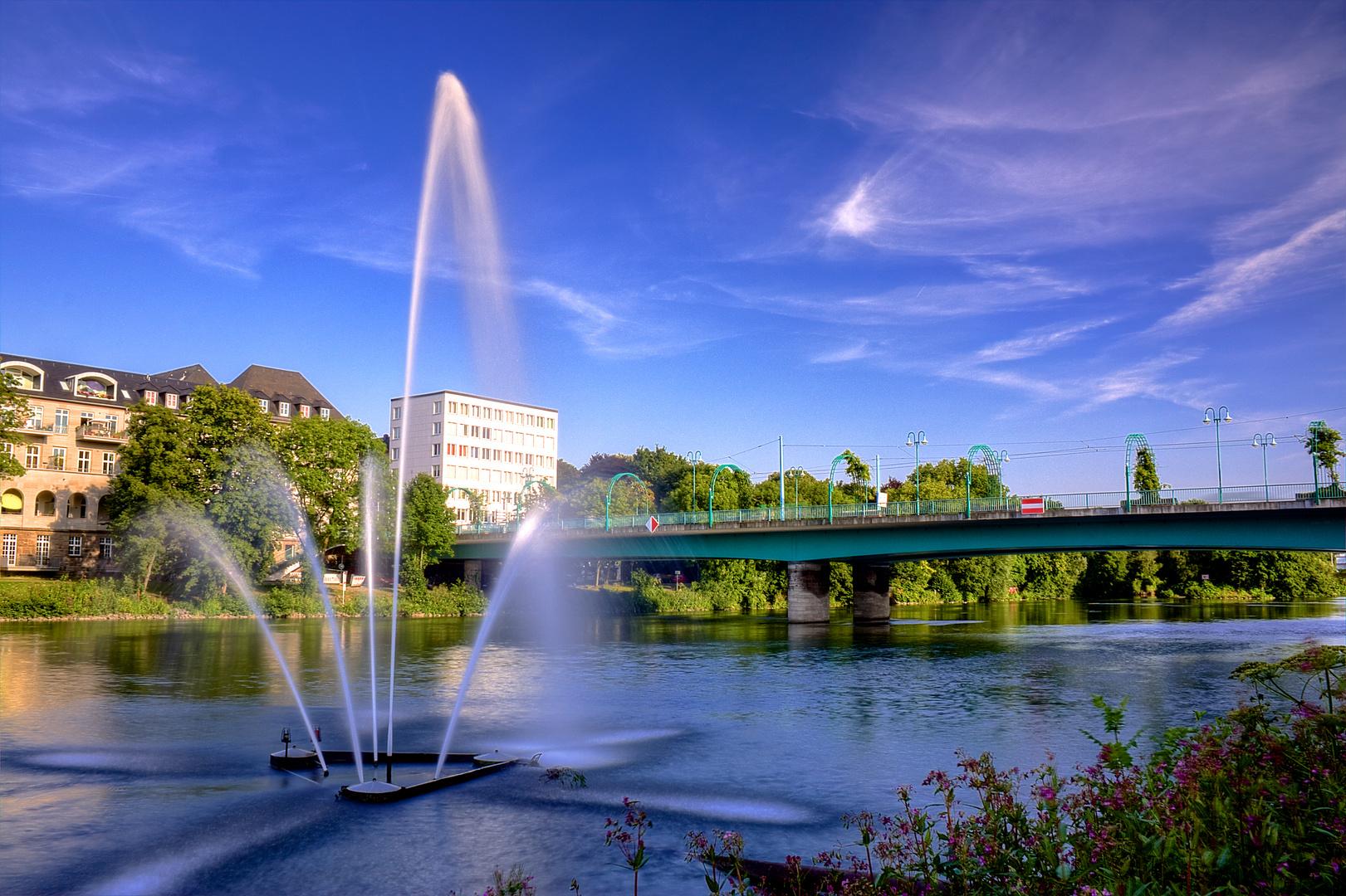 Schloßbrücke in Mülheim an der Ruhr