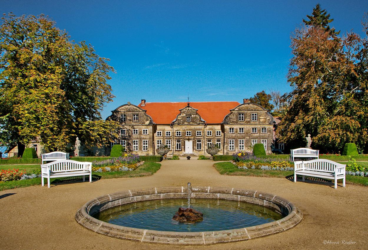 Schlossgarten Blankenburg.