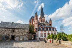 Schlosshof mit Dom in Limburg 63
