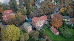 Schloßinsel und Mühle in Barmstedt