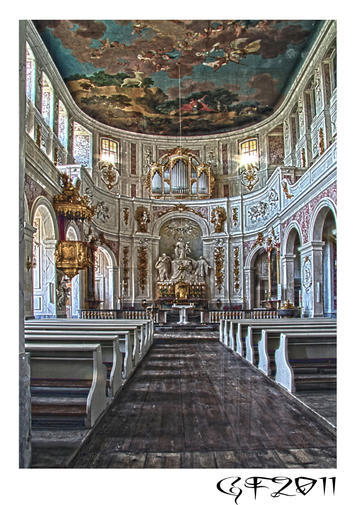 Schloßkapelle Hubertusburg Wermsdorf