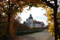 Schloßkirche Eisenberg aus der Rutunde heraus