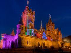 Schlossleuchten Drachenburg 1