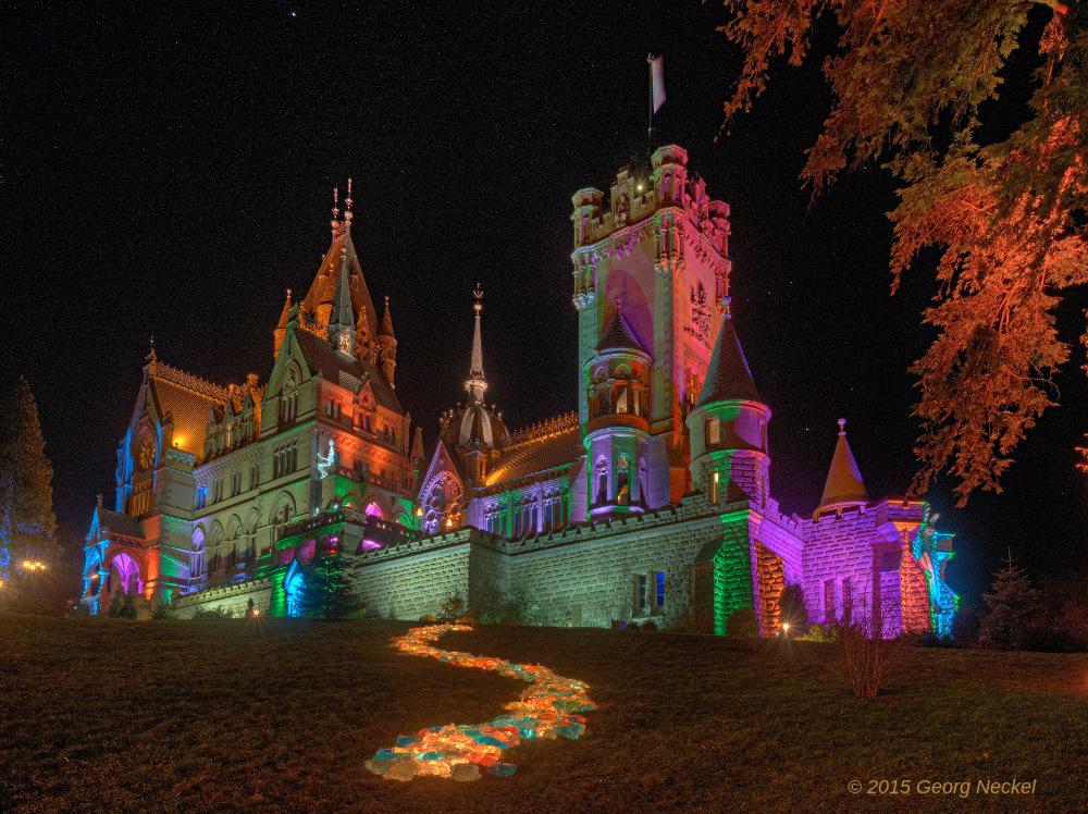 Schlossleuchten Drachenburg 5