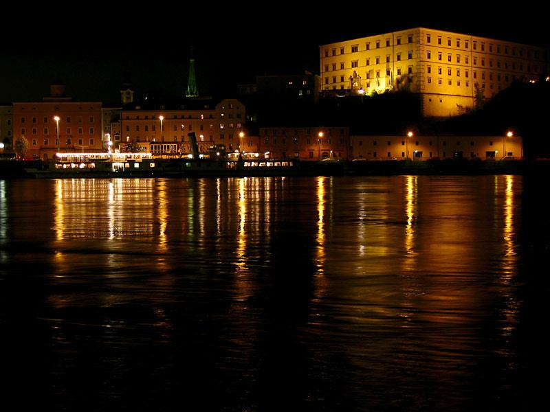 Schlossmuseum bei Nacht