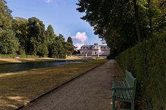 Schloßpark Benrath Düsseldorf 36 Grad im Schatten