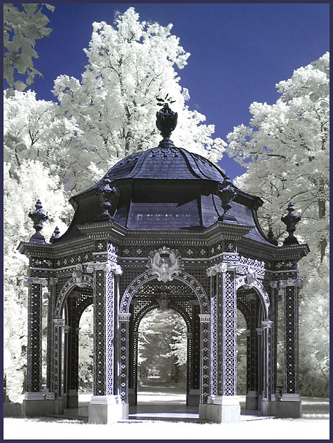 Schloßpark Laxenburg - Lusthaus (IR)