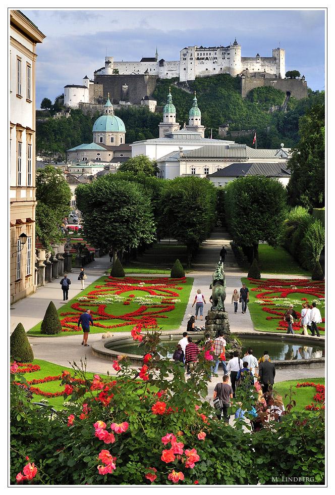 Schlosspark Mirabell, Salzburg