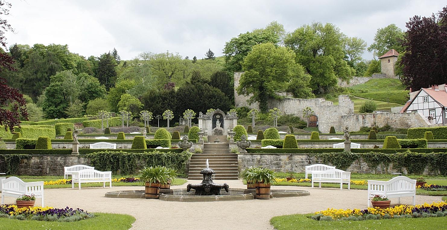 Schlosspark / Schloss Blankenburg