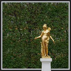 Schlosspark Schwetzingen Statue IV