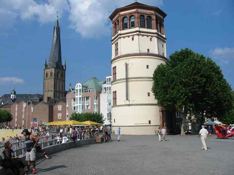 Schlossturm - Düsseldorf Altstadt