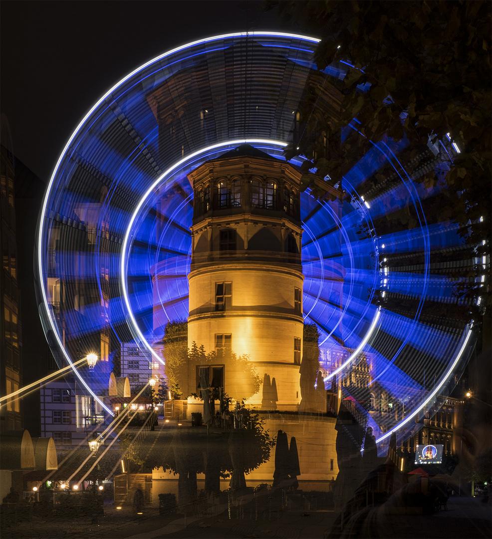Schloßturm und Riesenrad