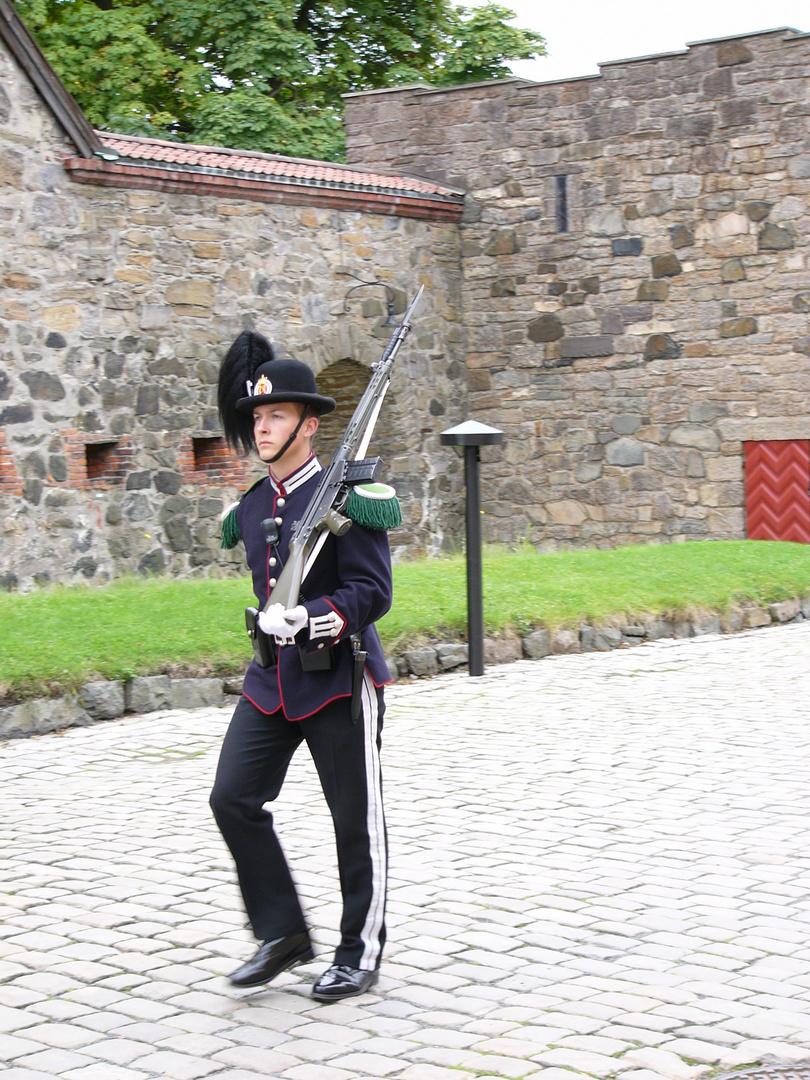Schloßwache Oslo