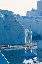 Schlucht im Eis