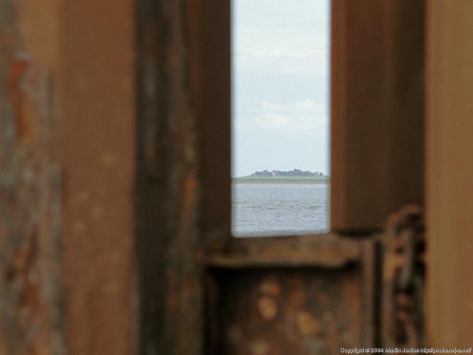 Schlüttsiel - Blick nach Oland